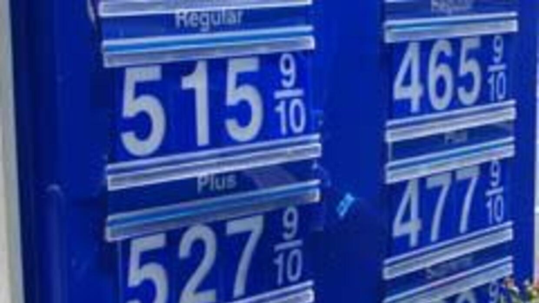 Gasolina $5 el galón