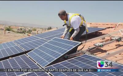 Industria solar avanza en California