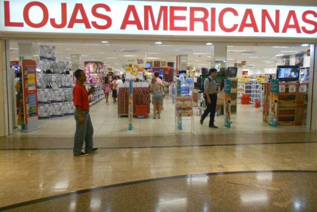 10. LOJAS AMERICANAS. La cadena de tiendas de conveniencia brasileña tie...