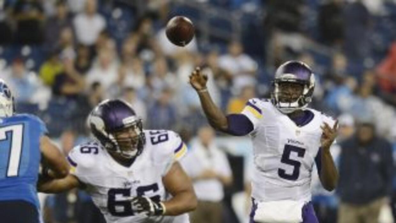 Teddy Bridgewater lanzó un pase de touchdown en su primer juego como tit...