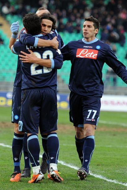 Ese tanto hacía sentir al Napoli que la victoria estaba cerca.