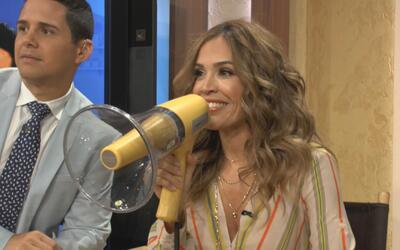 Detrás de cámaras: No hagan enojar a Karla en los comerciales