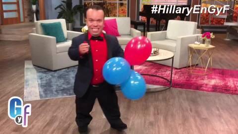 Carlitos el productor está listo para recibir a Hillary Clinton
