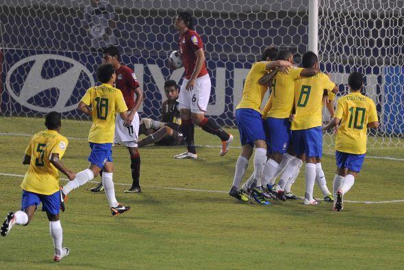 Eso los llevó a tomar la ventaja inciar con el gol de Danilo a los 12 mi...