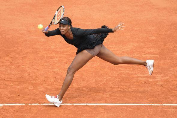 Dada su lesión, la participación de Venus en el polvo de ladrillo de Rol...