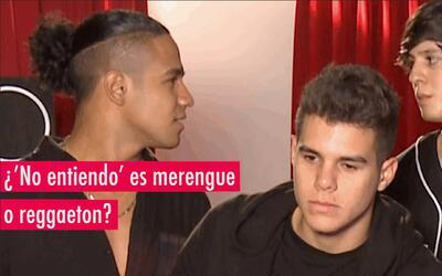 Richard y Christopher de CNCO debaten si 'No entiendo' es merengue o reg...