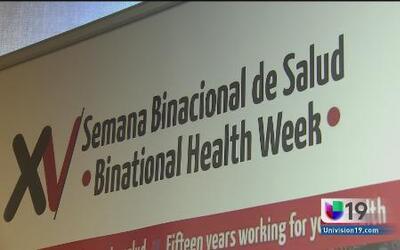 No te pierdas la semana binacional de la salud