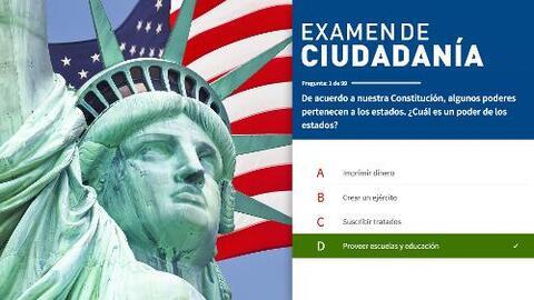 Examen de ciudadanía