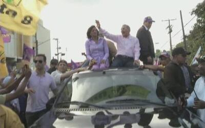 Danilo Medina, candidato del Partido de Liberación Dominicana puso fin a...