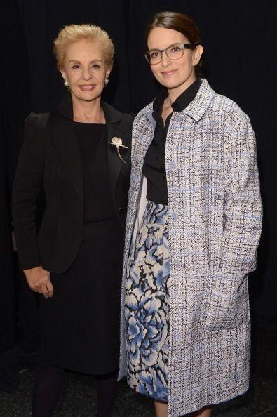 ¡El 'backstage' de la famosa diseñadora Carolina Herrera estuvo repleto...