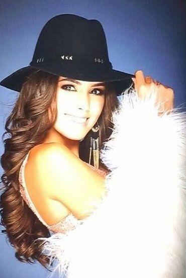Desde que inició la competencia en Miss Universo, ella ya fung&ia...