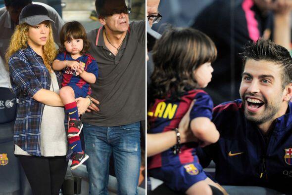 Gracias a este gran apoyo el Barcelona ganó el encuentro.