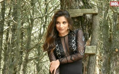 Ana Brenda Contreras, una bella en el bosque