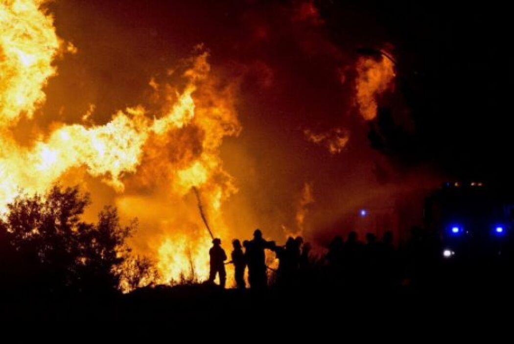 El sábado fue arrasado por un incendio de grandes dimensiones.