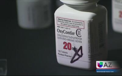 Combaten abuso del consumo de medicamentos para el dolor en Arizona