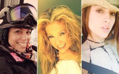 Varias famosas más se han mostrado de cara lavada en sus redes sociales....