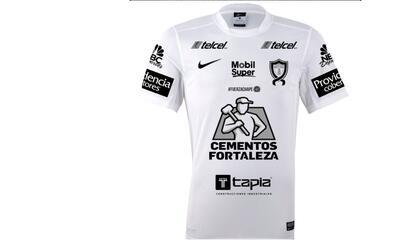 Camiseta del Pachuca en homenaje a Chapecoense