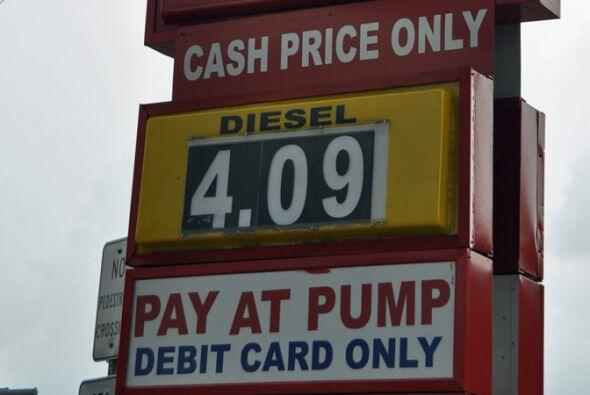 La estafa en la compra de gasolina puede ser también por la diferencia d...