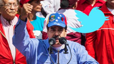 'Tuitazo' de Maduro llega a primera tendencia mundial