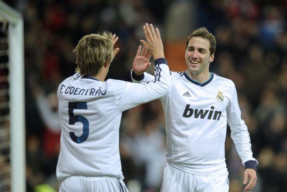 Sin merecerlo el Madrid estaba arriba por 2-0.