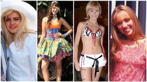 Las actrices a través del tiempo