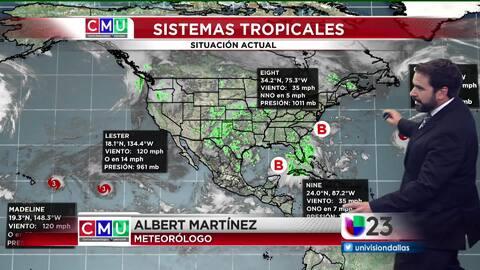 El tiempo: sistemas tropicales