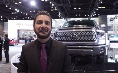 Toyota presenta a la Tundra y Sequoia TRD Sport durante el Auto Show de...