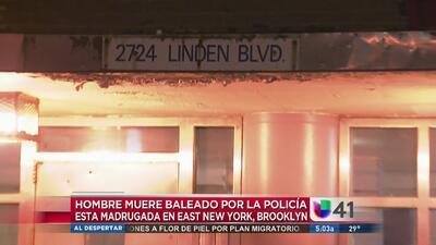 Policía balea y mata a hombre en Brooklyn