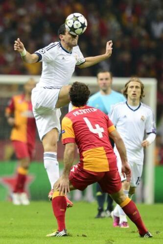 Pepé volvió a la titularidad del Madrid.