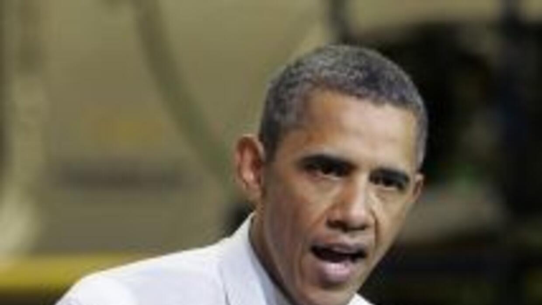 El presidente Barack Obama advirtió que la economía estadounidense sigue...