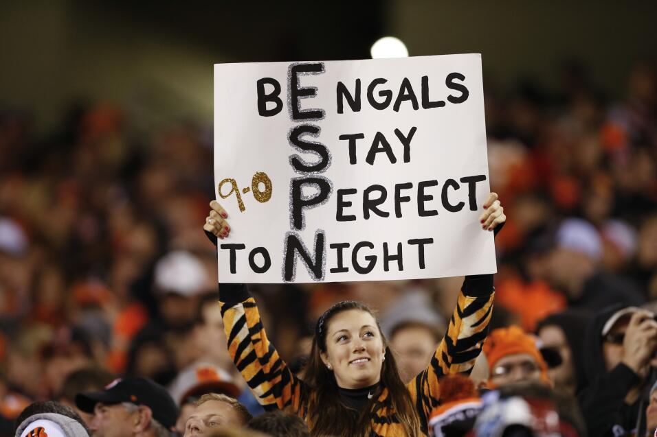Los Bengals perdieron el invicto en casa ante los Texans por 10-6, checa...
