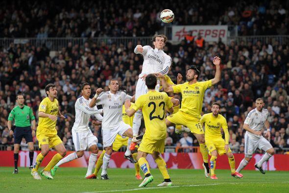 El Real Madrid salió más agresivo n la segunda mitad, y r&...