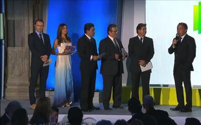 Emilio Azcarraga presenta Por el Planeta