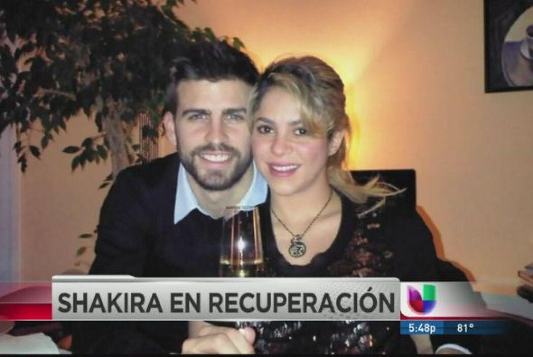Shakira dio a luz a su primer hijo poco después de las 21:00 horas en Ba...