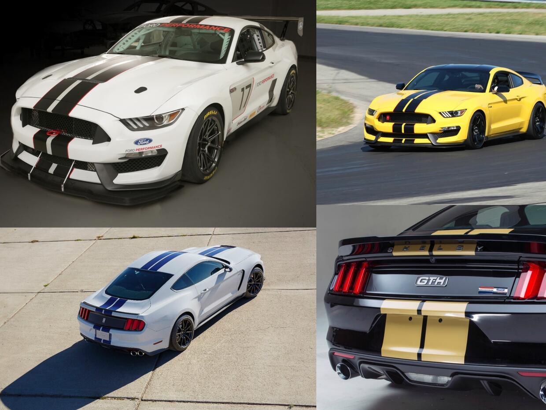 Los cuatro Ford Mustang Shelby, para todos los gustos