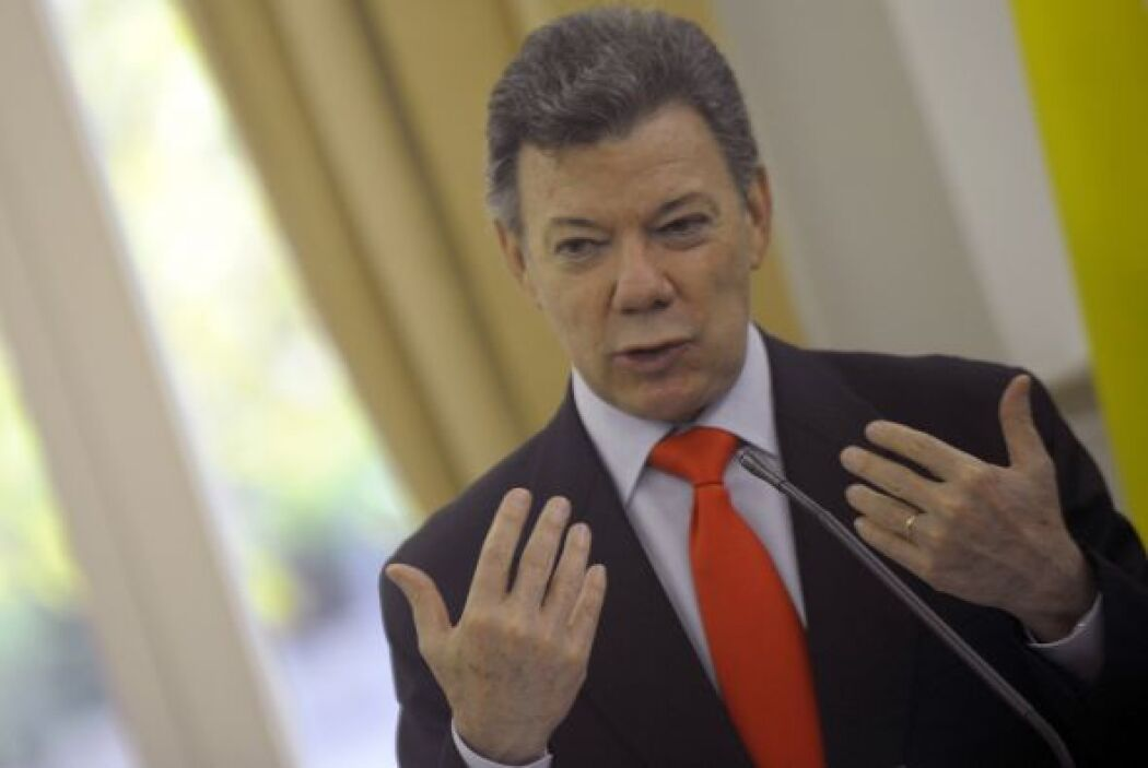 El presidente de Colombia, Juan Manuel Santos, sufrió una infección urin...