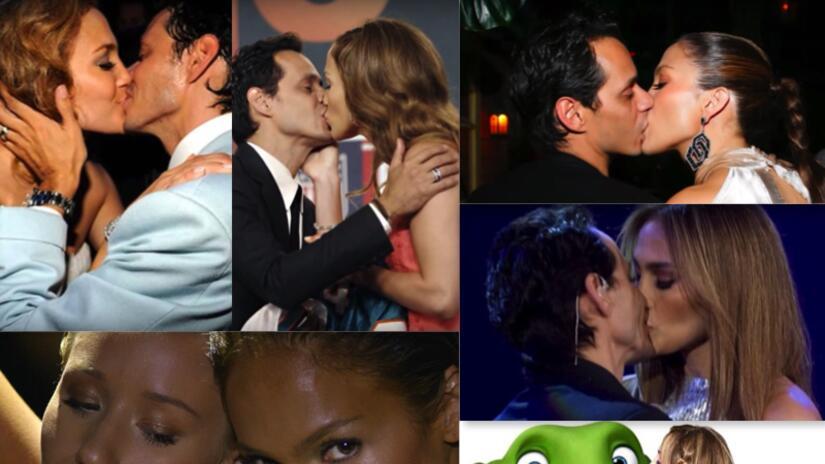 Besos de Jennifer López
