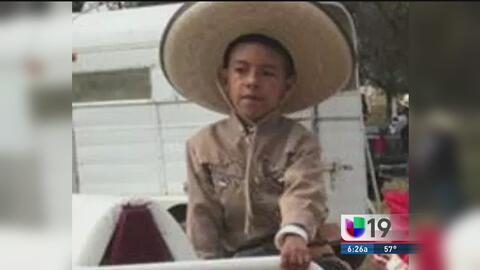El cuerpo de Jonathan, el niño víctima de tiroteo en San Bernardino lleg...