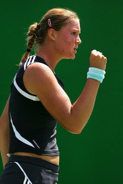 El 20 de abril de 2009, Dinara Safina ocupó la primera posición del ránk...
