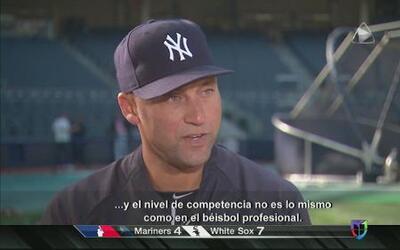 """Derek Jeter: """"He tenido éxito por suerte"""""""