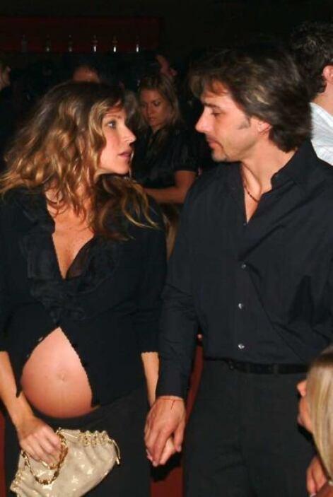 Antonia fue fruto del matrimonio entre la actriz y el actor Sergio Mayer.