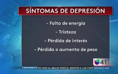 La depresión, un problema de salud