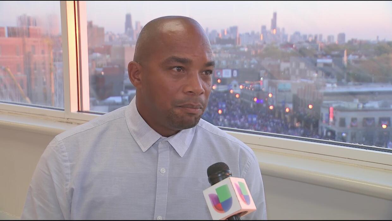 Orlando 'El Duque' Hernández habla del triunfo de los Cubs