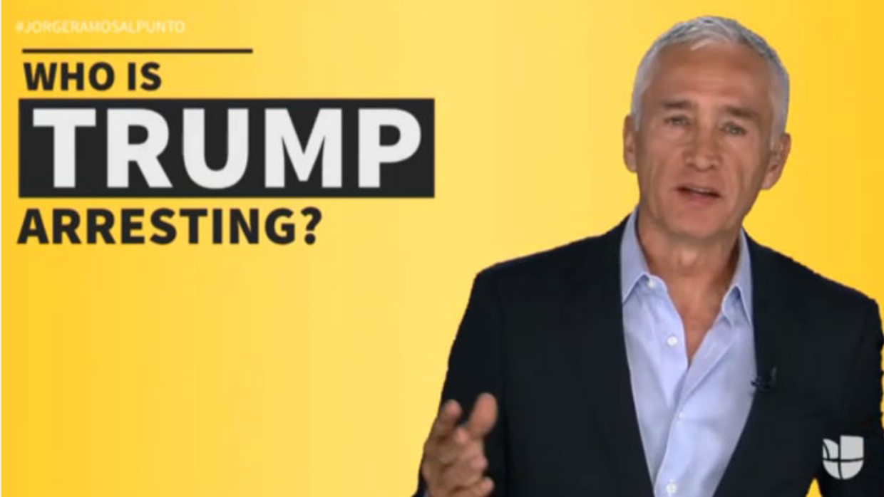 Jorge Ramos tells Donald Trump why he can't just say he's deporting immi...