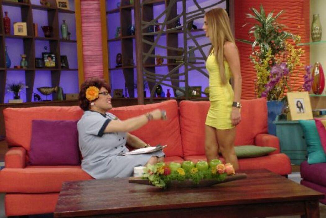 También dijo que Ximena es demasiado flaca para su gusto.