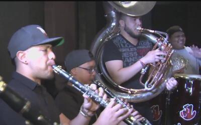 'Banda la maravillosa', el grupo musical compuesto por dreamers