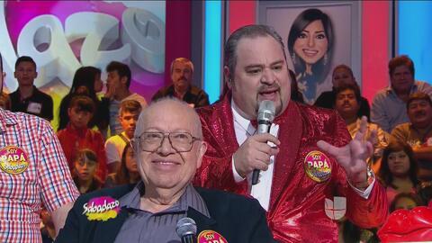 Eduardo Manzano tiene la total admiración de su hijo Ariel