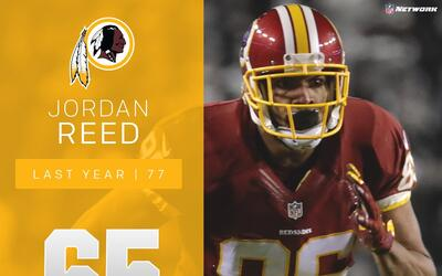 #65 Jordan Reed (TE, Redskins) | Top 100 Jugadores 2017
