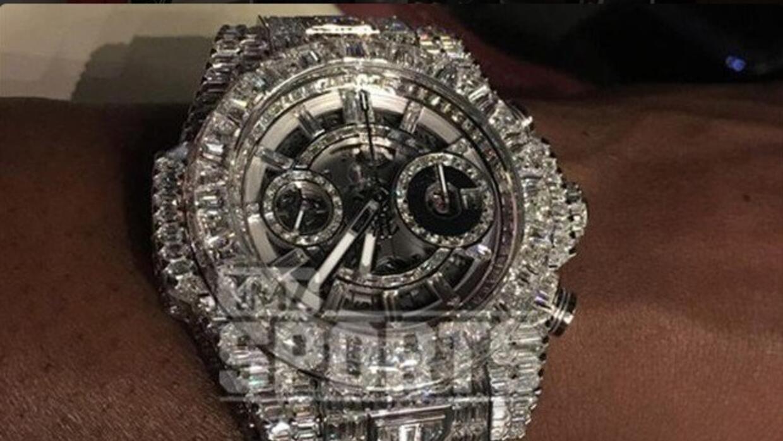 El costoso reloj de Floyd