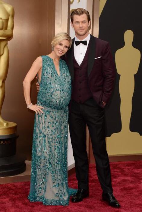 Chris Hemsworth es un hombre extremadamente galán y en esmoquin luce sen...